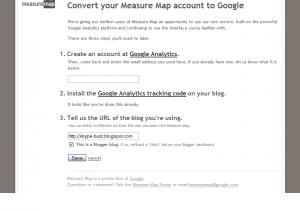 Aanmeldformulier MeasureMap