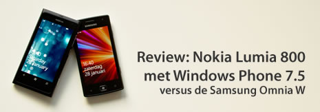Review Nokia Lumia 800 Windows Phone 7.5