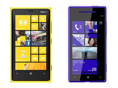 Vergelijking Nokia Lumia 920 en HTC 8X