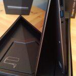 Lenovo Yoga 13 zijaanzicht