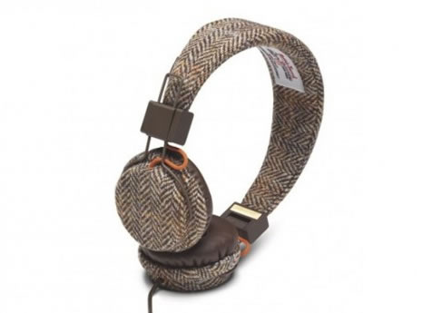 Stoere Harris Tweed Headphones van Urbanears
