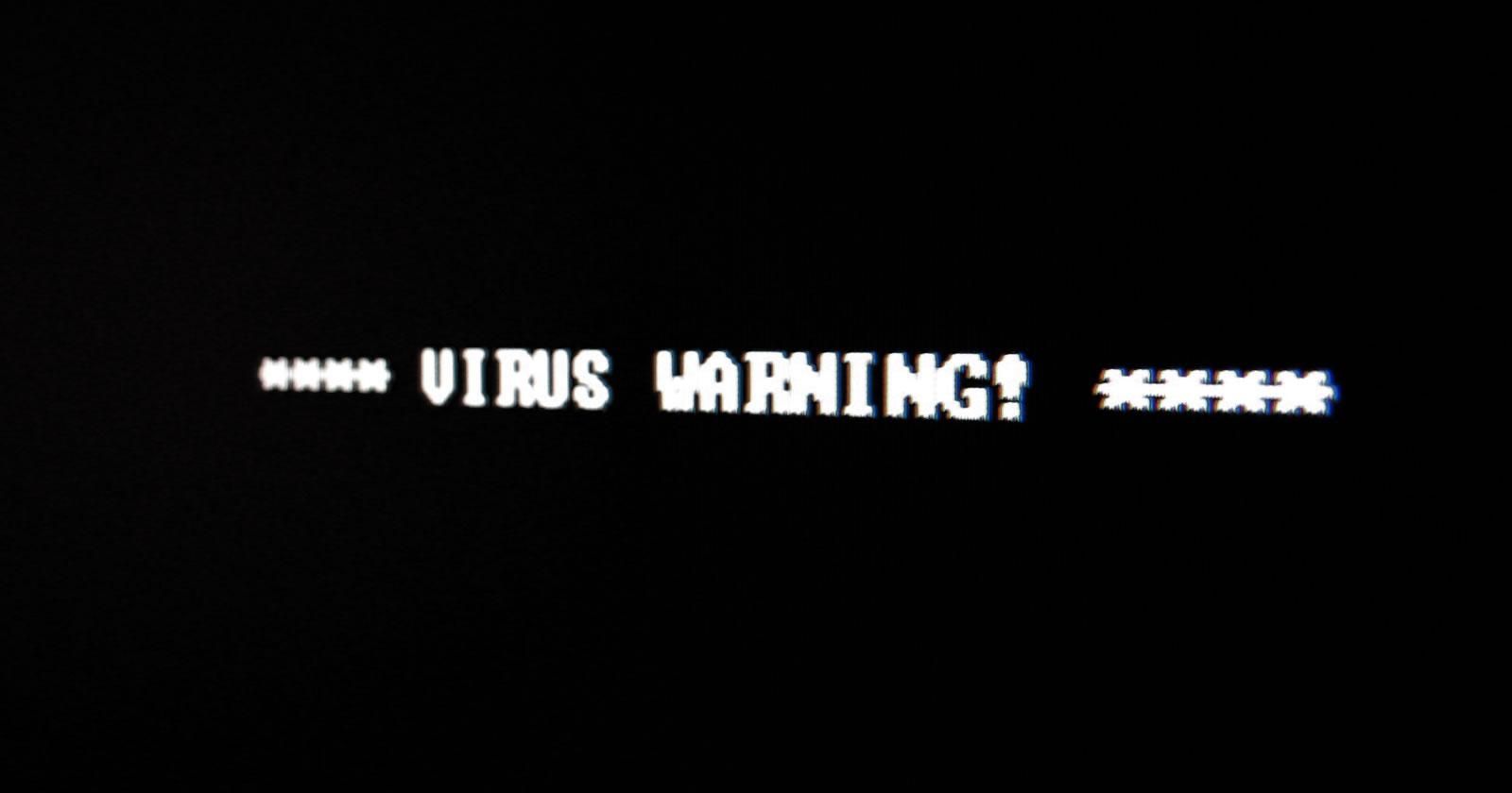 virus-waarschuwing