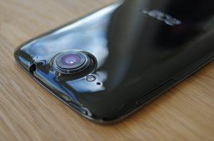 Acer Liquid Jade achterkant en camera