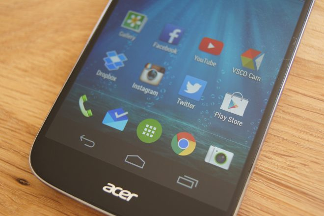 Review – Acer Liquid Jade