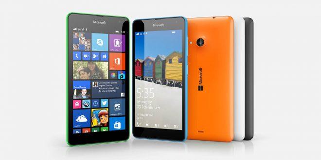 De Microsoft Lumia 535 komt eraan!