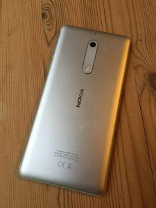 Nokia 5 Achterkant