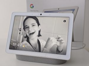 Google Nest Hub Max als digitale fotolijst